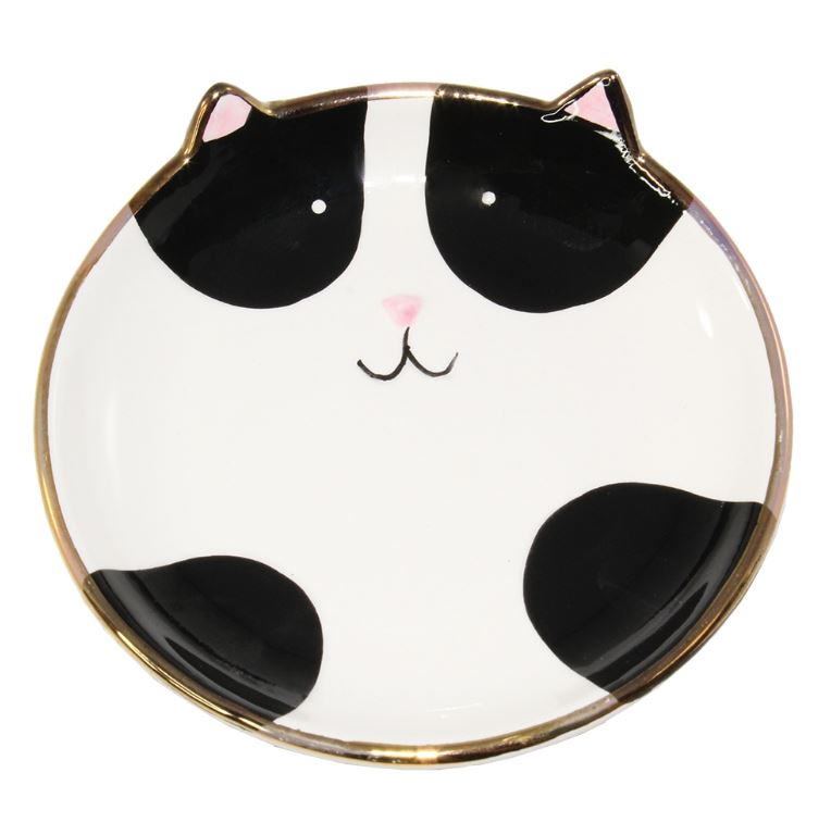 Pudgy Cat Trinket Tray