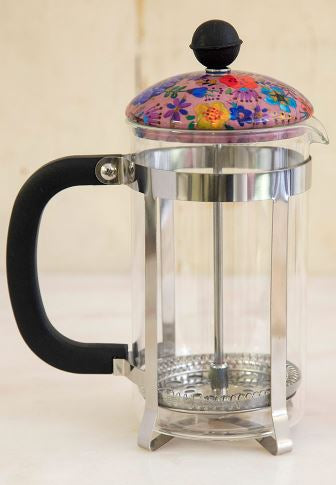 Floral French Press - 2 Colors