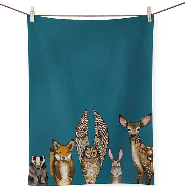 Patterned Animal Tea Towels - 8 Styles