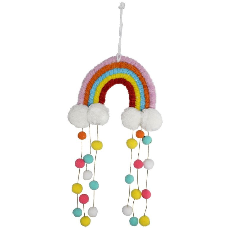 Rainbow & Clouds Mobile