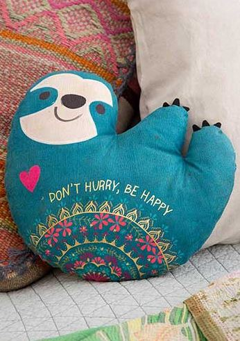 Happy Animal Pillows - 4 Styles