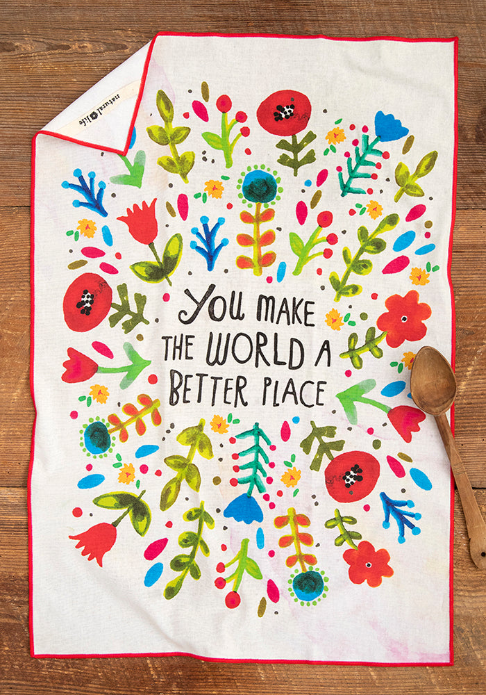 World Better Cotton Dish Towel