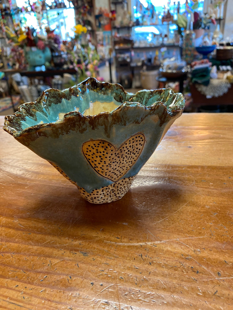 Handmade Glazed Ceramic Planter