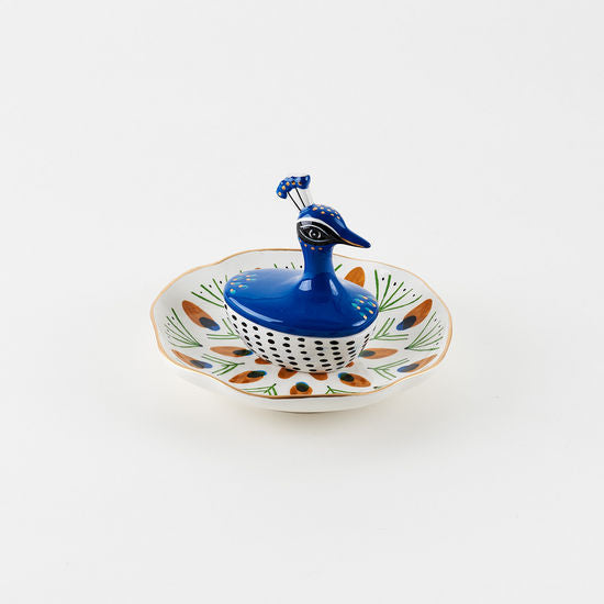 Peacock Jewelry Dish