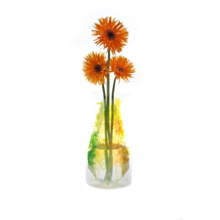 Bloom Expandable Vase - Yellow