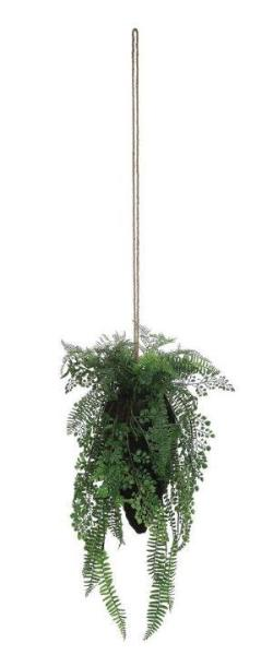 Faux Hanging Fern Premade Arrangement