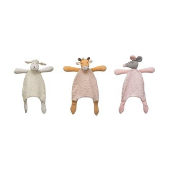 Plush Snuggle Toy - 3 Styles