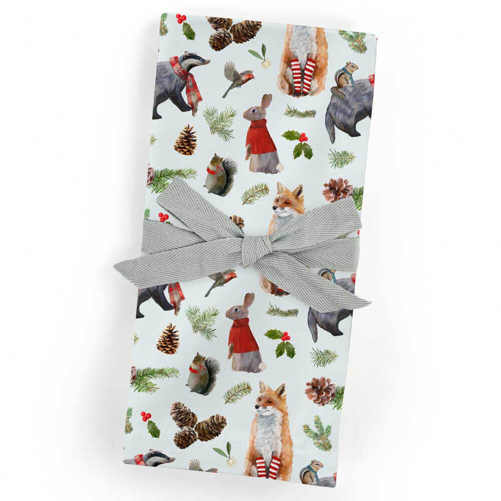 Christmas Bunch Cloth Napkins