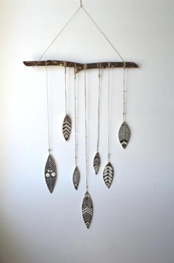 S H A M A N : Ceramic Wall Hanging