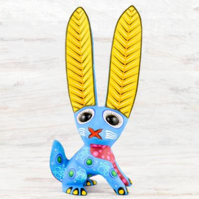 Rabbit Alebrije Oaxacan Wood Carving - 3 Colors