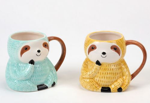 Sloth Mugs - 2 Colors