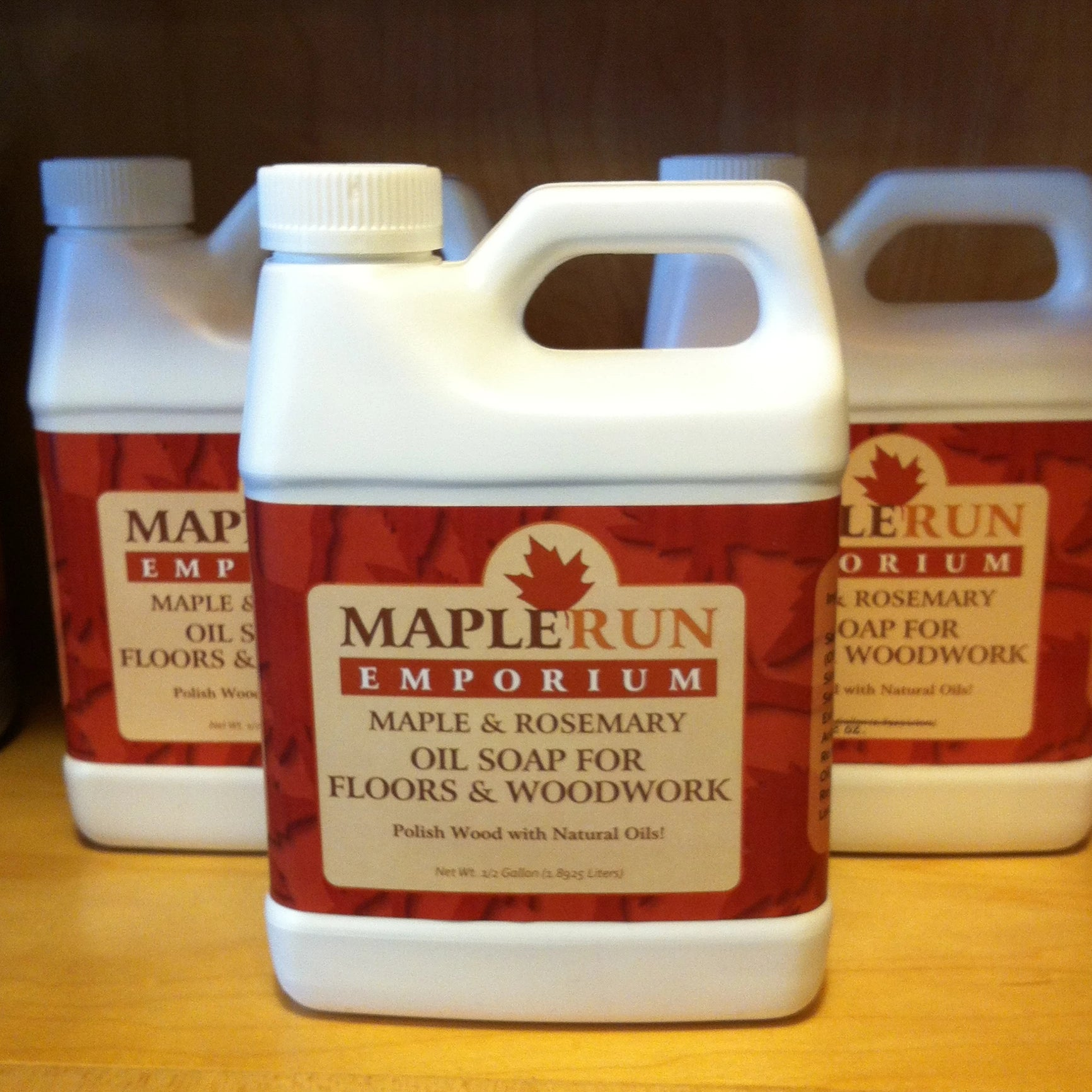 Maple & Rosemary Oil Soap for Floors & Woodwork 32 oz