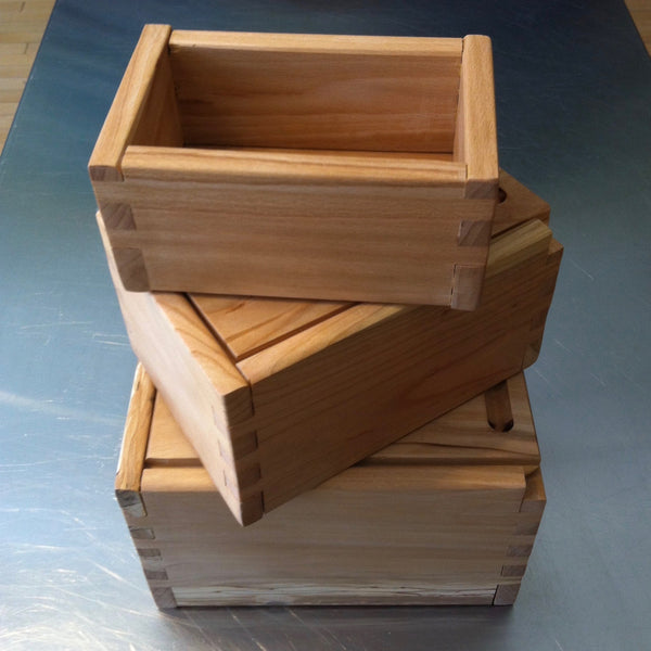 Nested Set of Three Boxes with Cherry