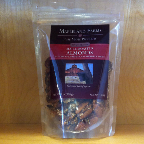 Spicy Blend Maple Roasted Almonds