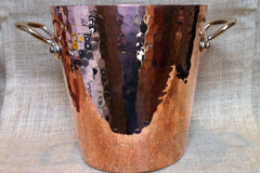 Mauviel Hammered Copper Champagne