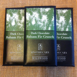 Dark Chocolate Balsam Fir Crunch