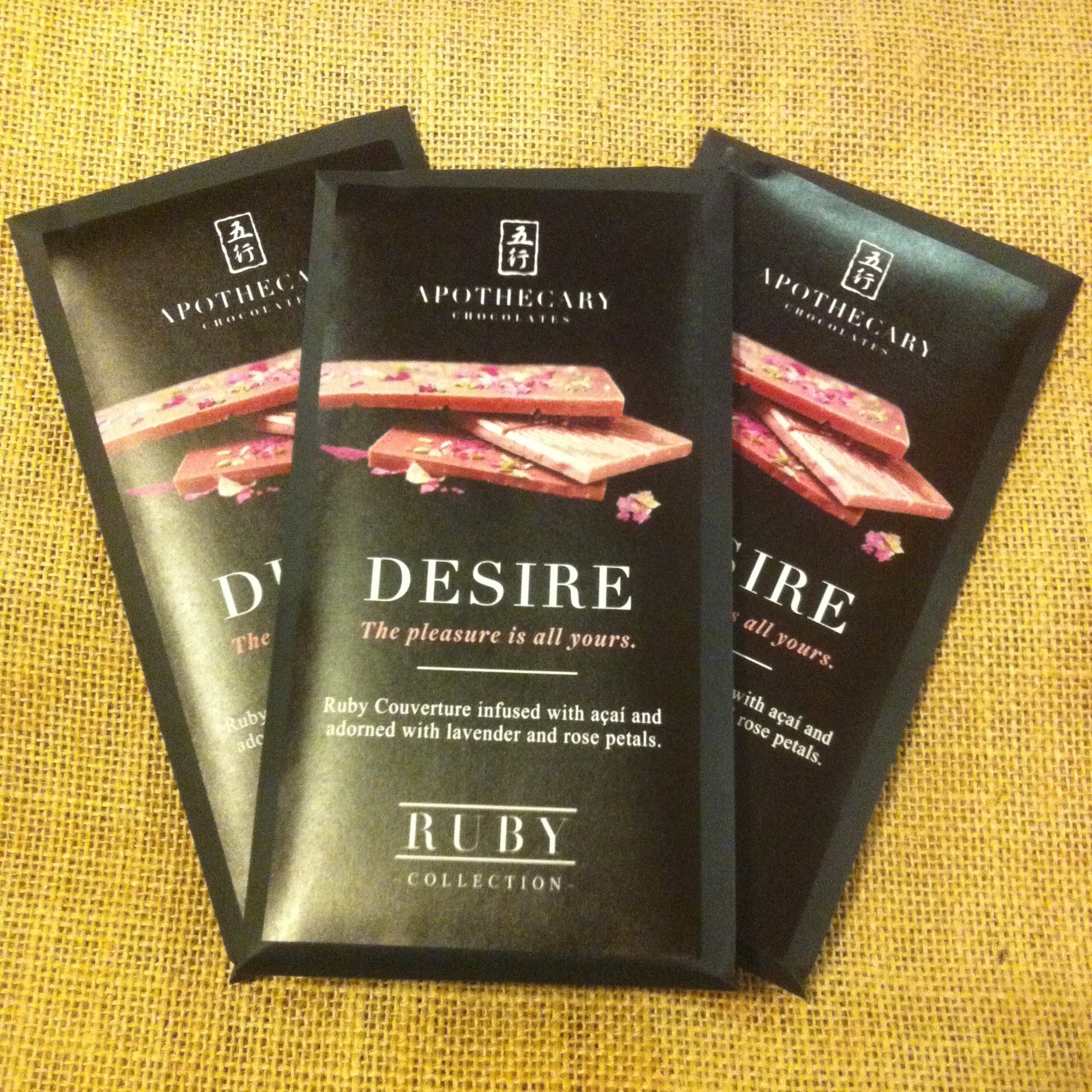 Desire Ruby Chocolate Bar