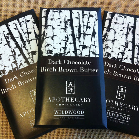 Dark Chocolate Birch Brown Butter