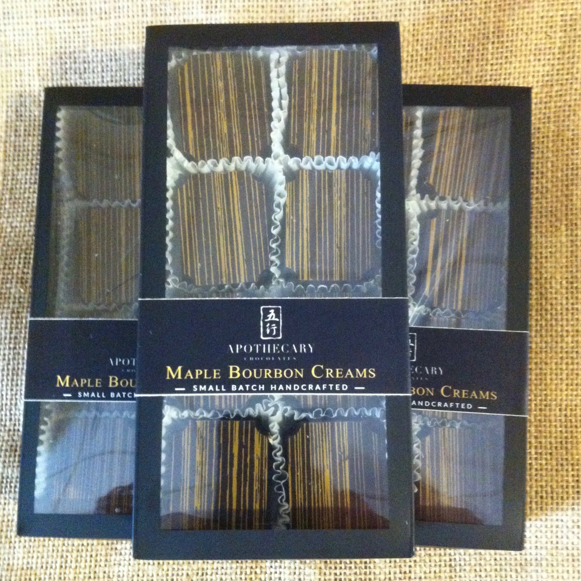 Maple Bourbon Creams