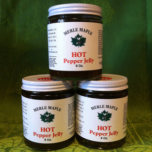 Maple Hot Pepper Jelly