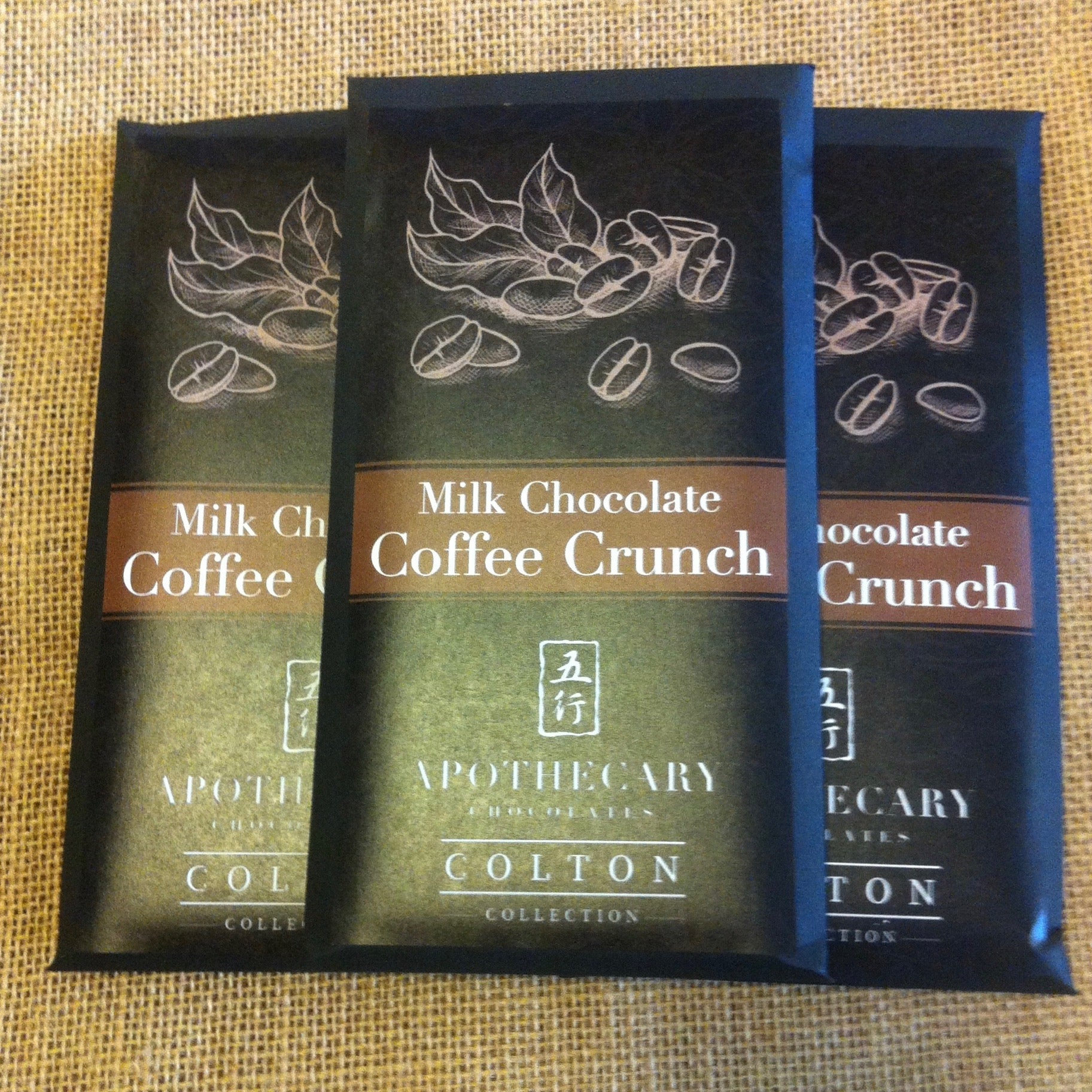Milk Chocolate Coffee Crunch