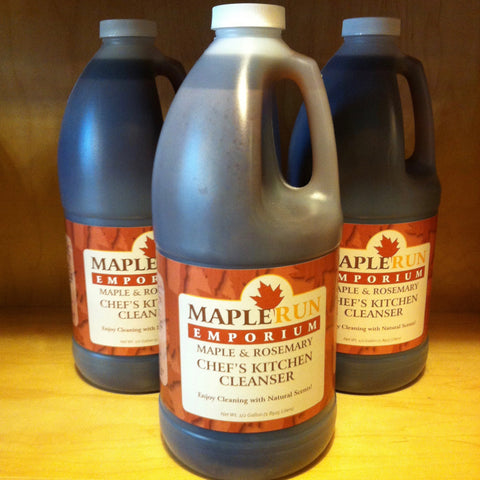 Maple & Rosemary Chef's Kitchen Cleanser 64 oz