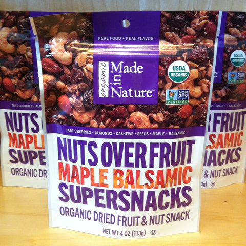 Nuts Over Fruit Maple Balsamic Supersnacks