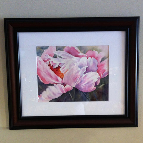 Christine's Peony Watercolor