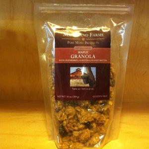 Maple Peanut Butter Granola