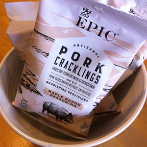 Maple Bacon Seasoned Pork Cracklings