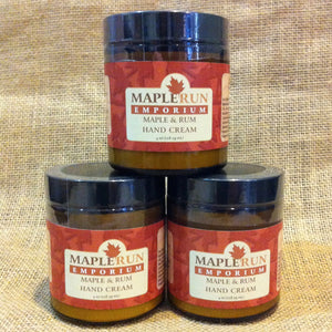 Maple & Rum Hand Cream