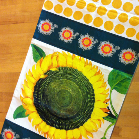 "Sunflower Table Runner 71"" x 16"""