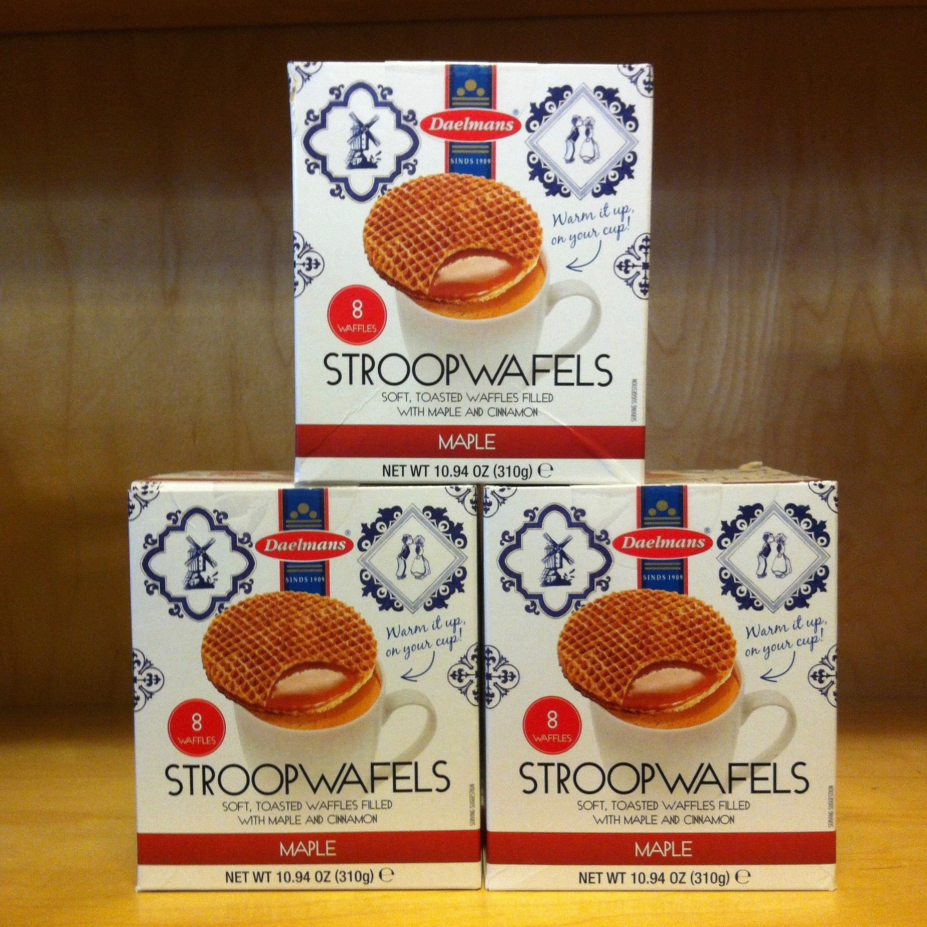 Maple Stroopwafels