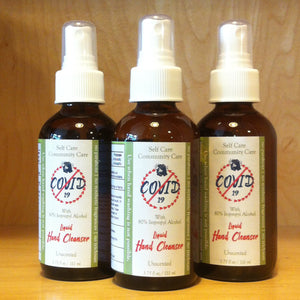 Unscented Liquid Hand Cleanser 3.75 oz.
