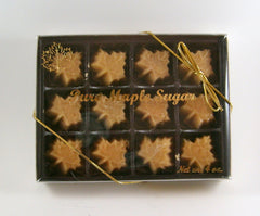 Maple Sugar Candy Leaves
