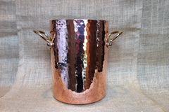 Mauviel Hammered Copper Wine Bucket