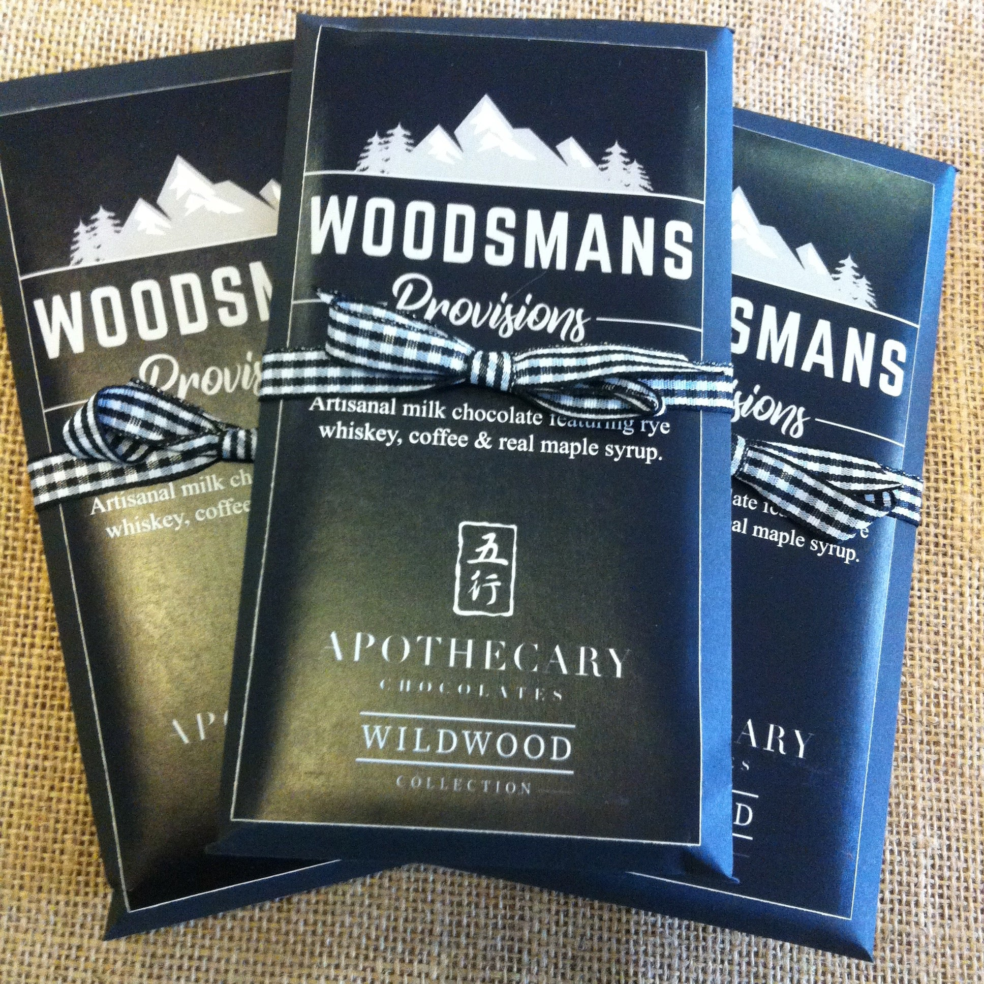 Woodsmans Provisions Milk Chocolate Bar