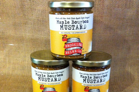 Brooklyn Brine Co. Maple Bourbon Mustard