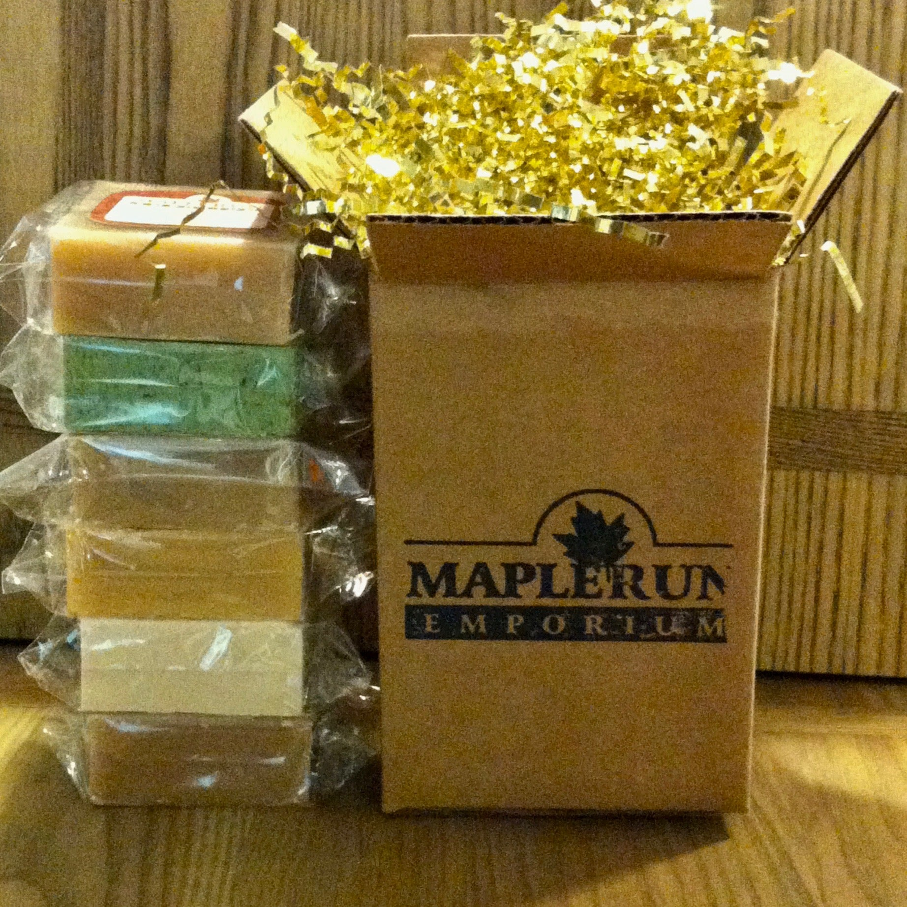 Maple Scented Bar Soap Bundle