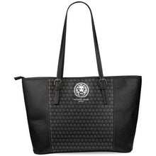 Pattern with White Lion Womens Tote Large Bag