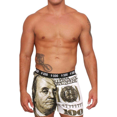 Men's Boxers $100 Dollar Bill