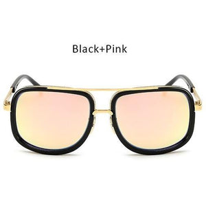 TSHING Men and woman Fashion Square Sunglasses