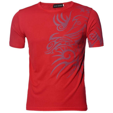 Jeckion Men's Short Sleeve T-Shirts  Slim Design