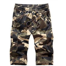 Mens Combat Camouflage Shorts Knee Length