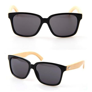 MEN'S  Bamboo Wood Sunglasses Brown / Black / Leopard Sunglasses Bamboo Leg Sunglasses