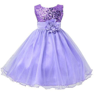 Girls Formal Sequined Dress