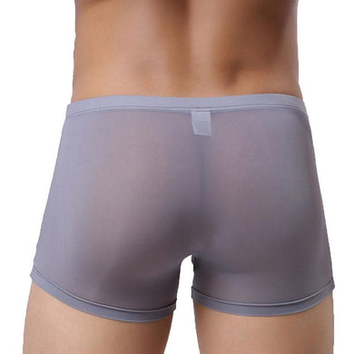 Men Sexy Ventilation Underwear High Quality Boxers Men Shorts GY/L