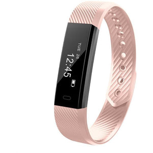 ID115HR Bluetooth Heart Rate Monitor Smart Bracelet Fitness Tracker Step Counter Wristband