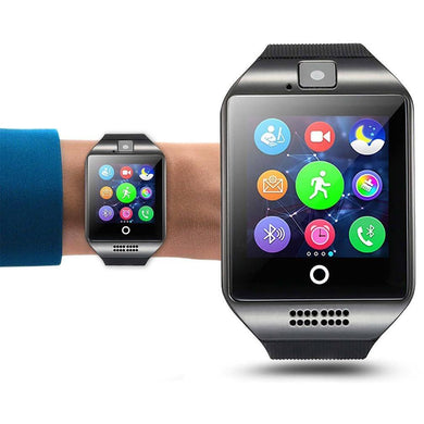 Q18 Smart Wrist Watch Bluetooth Phone