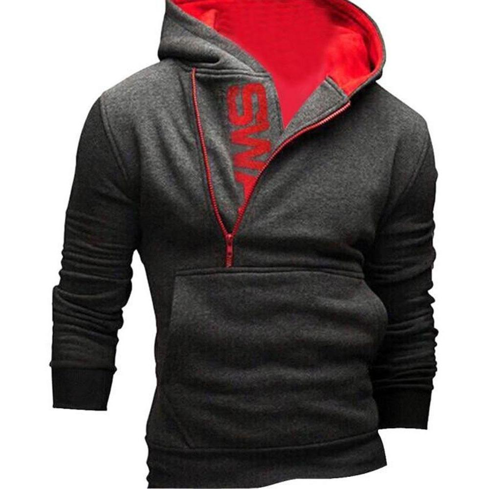 Men's  Long Sleeve Hooded Sweatshirt
